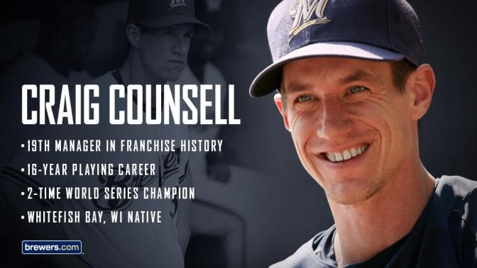 Meet The Milwaukee Brewers New Manager Craig Counsell: The Man With An Incredible Baseball Background