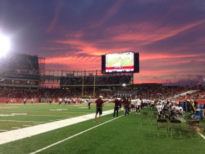 Texas state vs. university of houston