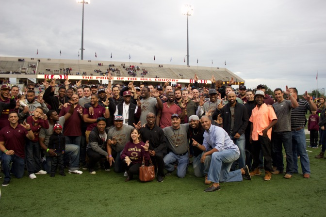 "Texas State Recognizes ""T"" Association Hall of Honor Inductees and 2005 Southland Conference Champions"